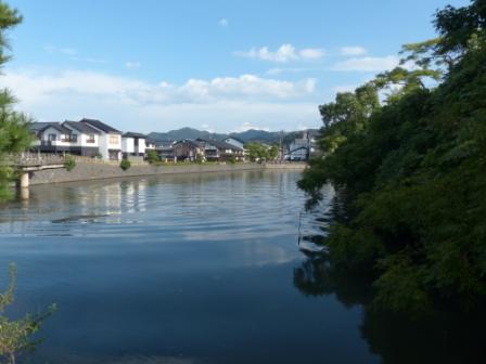 松江城 堀 1