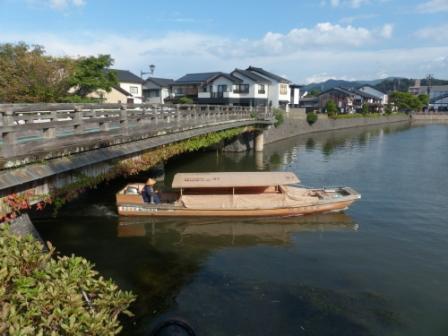 松江城 堀 2