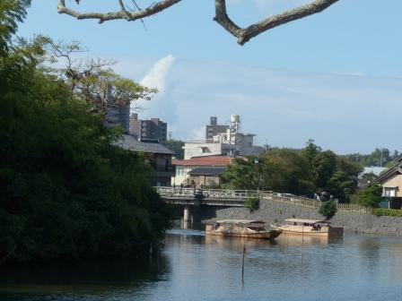 松江城 堀 3