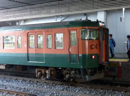 岡山駅 165系電車
