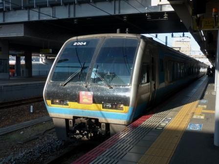 岡山駅 特急 南風 2000系