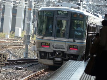 岡山駅 マリンライナー