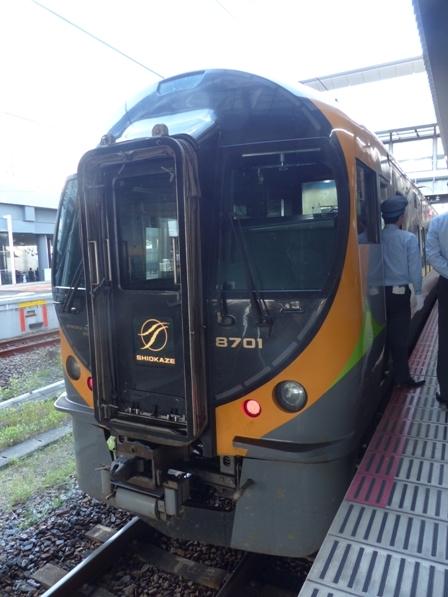 岡山駅 特急しおかぜ 8800系 2