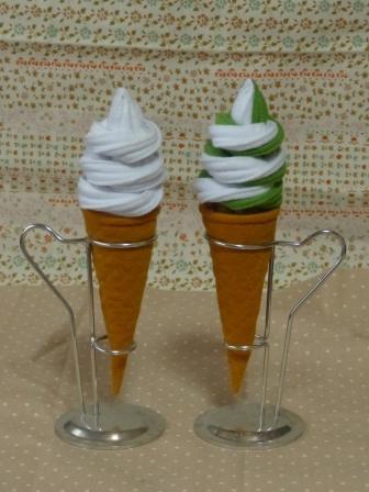 フェルト アイスクリーム ソフトクリーム 2