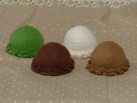 フェルト アイスクリーム ボールアイス 2