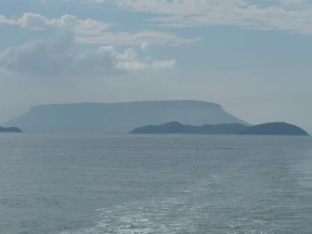 フェリー船上からの風景 6