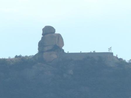 フェリー船上からの風景 9  重岩