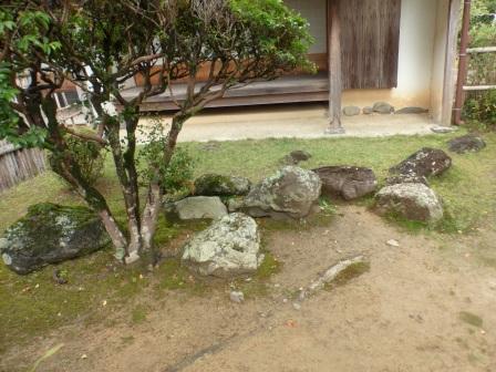 岩崎弥太郎生家 2 庭の日本列島の石組