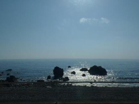バス車窓風景 2 太平洋