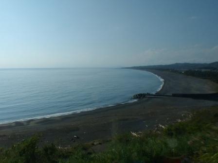バス車窓風景 6 太平洋