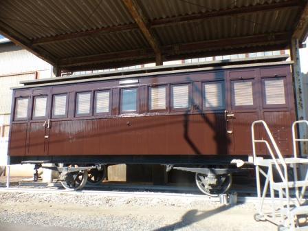 JR四国多度津工場 11  ロ481号客車