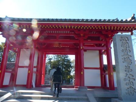屋島寺 1 東大門