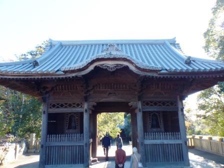 屋島寺 8 四天門