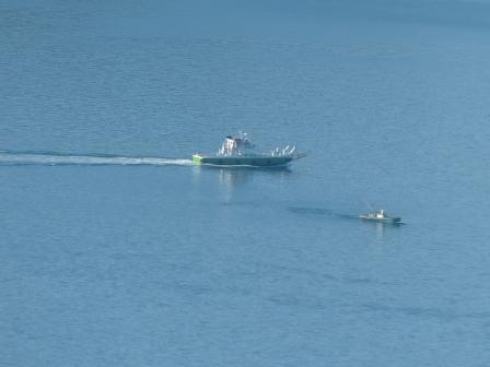 屋島からの風景 3 船
