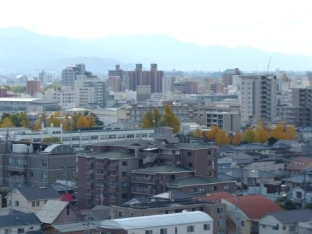 道後公園 展望台からの眺め 2