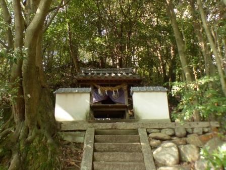 道後公園 岩崎神社 2