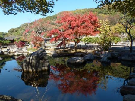 二之丸史跡庭園 紅葉 3