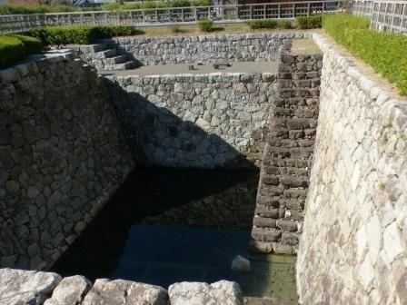 二之丸史跡庭園 4 大井戸遺構