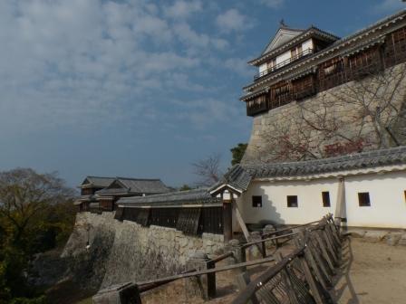 紫竹門西塀、南隅櫓