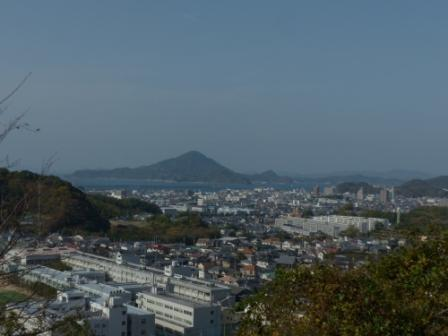 松山総合公園からの眺め 1