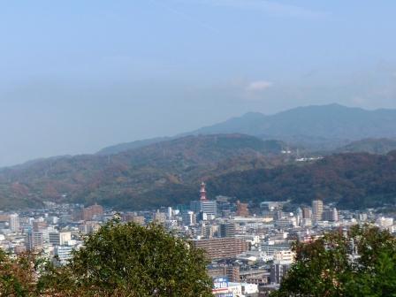 松山総合公園からの眺め 3