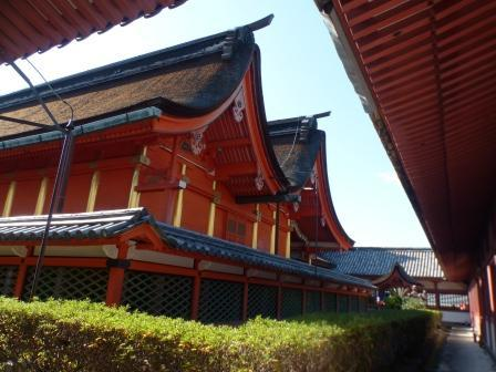 伊佐爾波神社 透塀と本殿 2