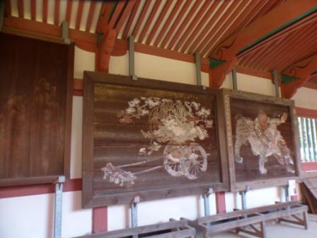 伊佐爾波神社 廻廊内 1