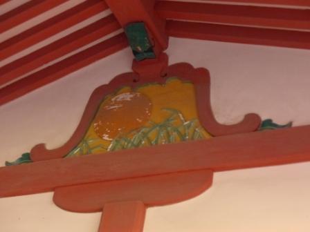 伊佐爾波神社 廻廊内 2