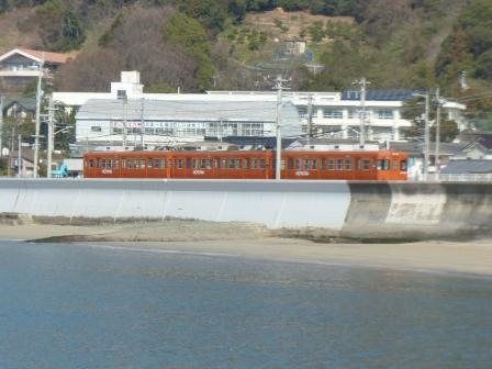 伊予鉄道・郊外電車 6 海と