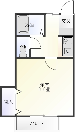 コンフォートK101号室