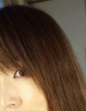 秋になると前髪