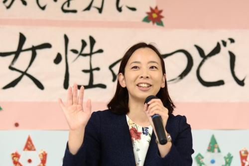 181222清瀬女性のつどい・吉良よし子参院議員DSC_2207