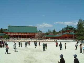 平安神宮東歩廊