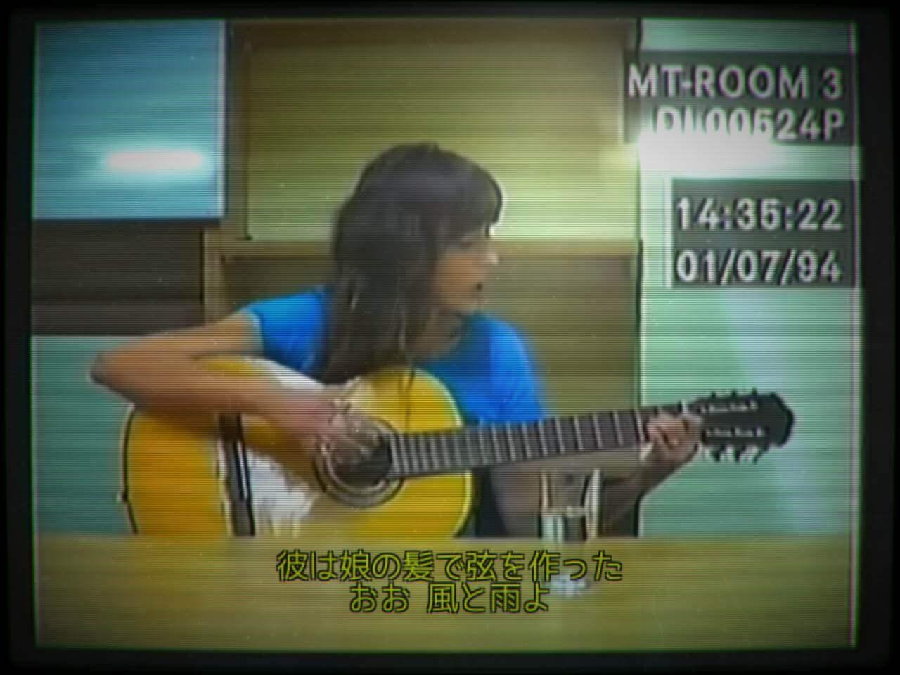 herstory スクショ ギターで弾き語り
