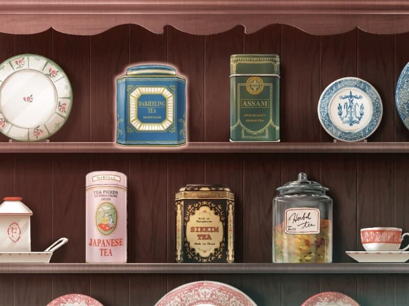 お茶会への招待状 スクショ 好きなお茶