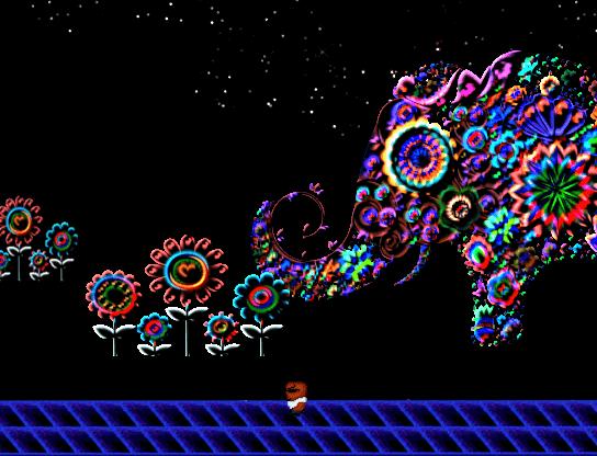 美術空間 スクショ 目玉の迷宮地下