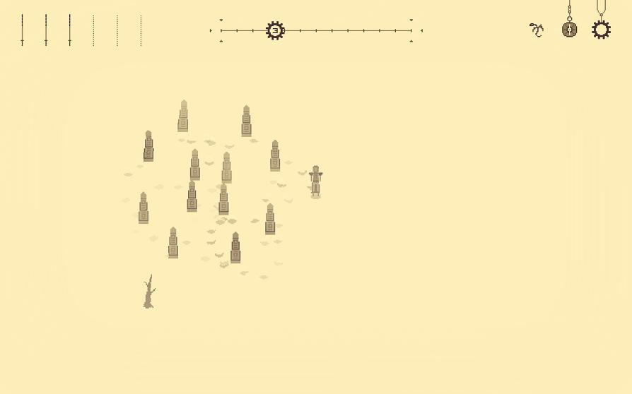 sandstorm スクショ 謎の石碑群