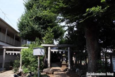 中村御嶽神社(練馬区中村)1