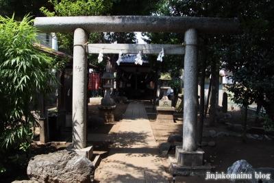 中村御嶽神社(練馬区中村)3