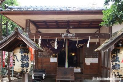 中村御嶽神社(練馬区中村)5