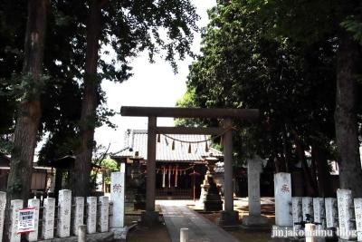 中村八幡神社(練馬区中村南)1