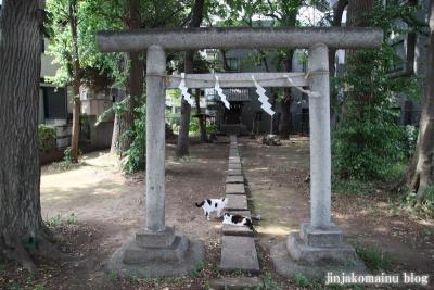 田中稲荷神社(練馬区中村南)1