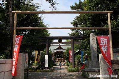鷺宮八幡神社(中野区白鷺)1