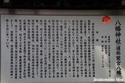 鷺宮八幡神社(中野区白鷺)3