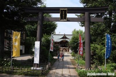 鷺宮八幡神社(中野区白鷺)4