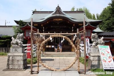 鷺宮八幡神社(中野区白鷺)18