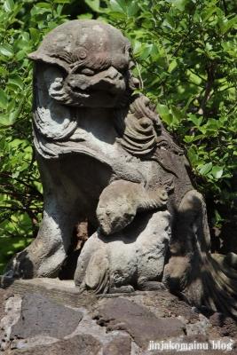 鷺宮八幡神社(中野区白鷺)7