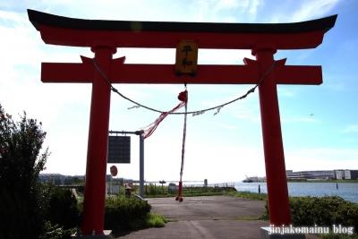 旧穴守稲荷神社大鳥居(大田区羽田空港)2