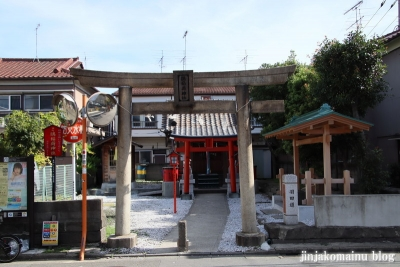 鷗稲荷神社(大田区羽田)1