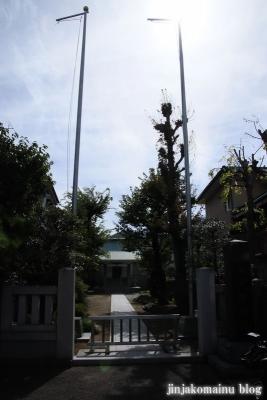 東中江名天祖神社(大田区西糀谷)1